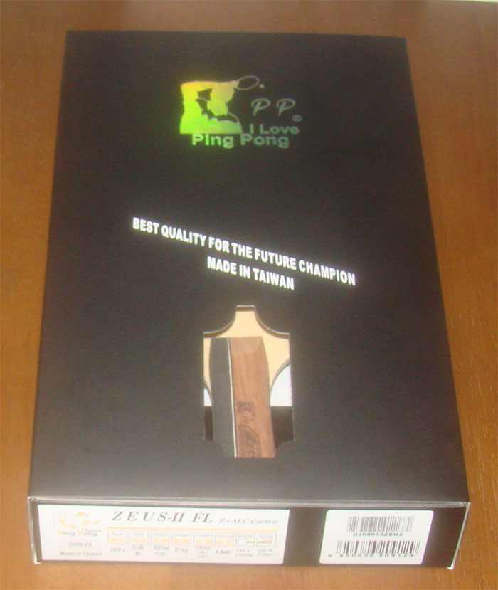 PP-ZEUS-II 包裝盒