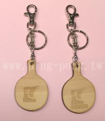 P.P. Japan Kiso Hinoki Racket KEY-Chain